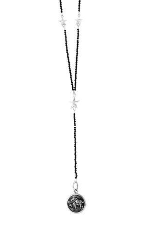 Buffalo Concho Spinel Rosary