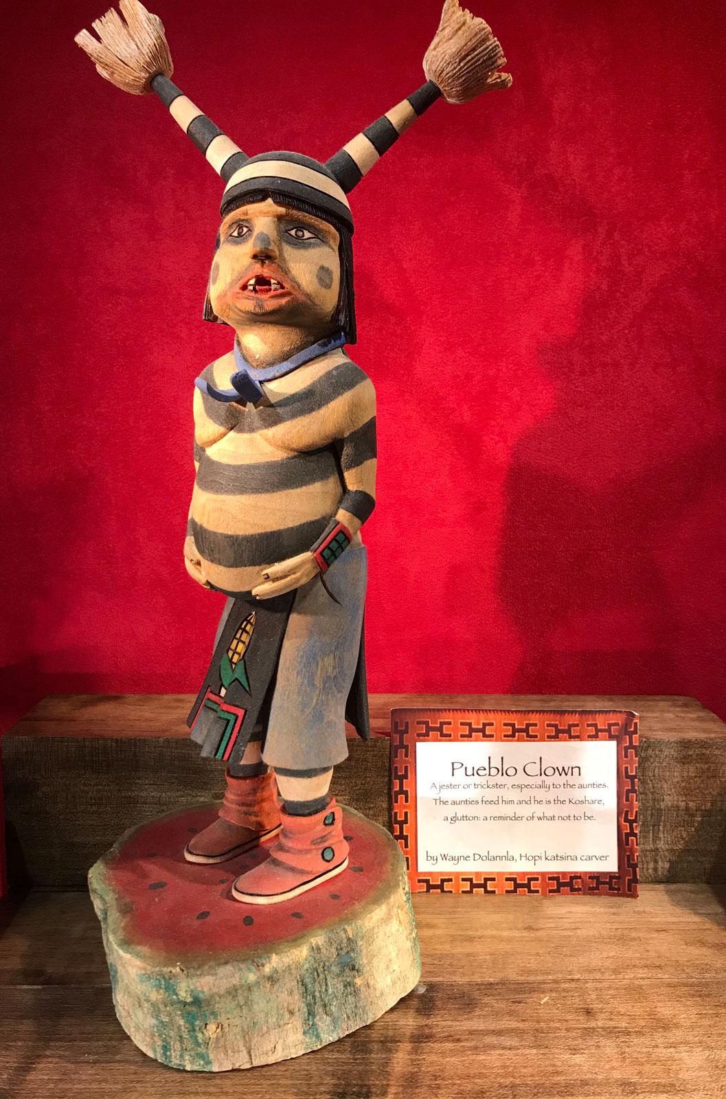 Katsina Pueblo Clown