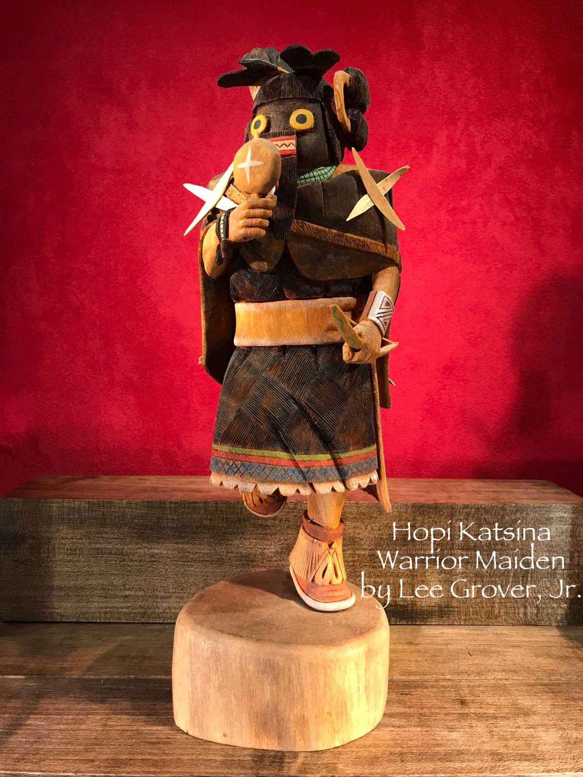Katsina Warrior Maiden