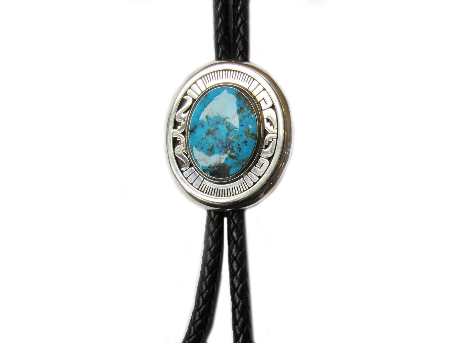 Kingman Turquoise Bolo