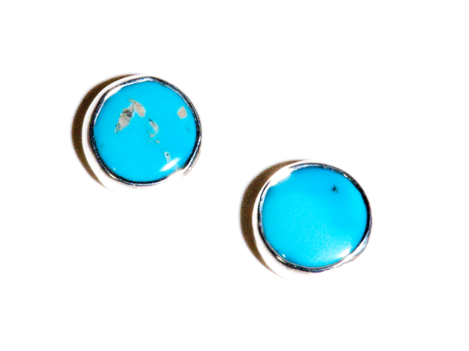 Kingman Turquoise Post Earrings