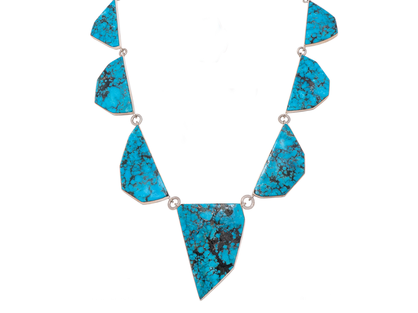 Kingman Turquoise Statement Necklace