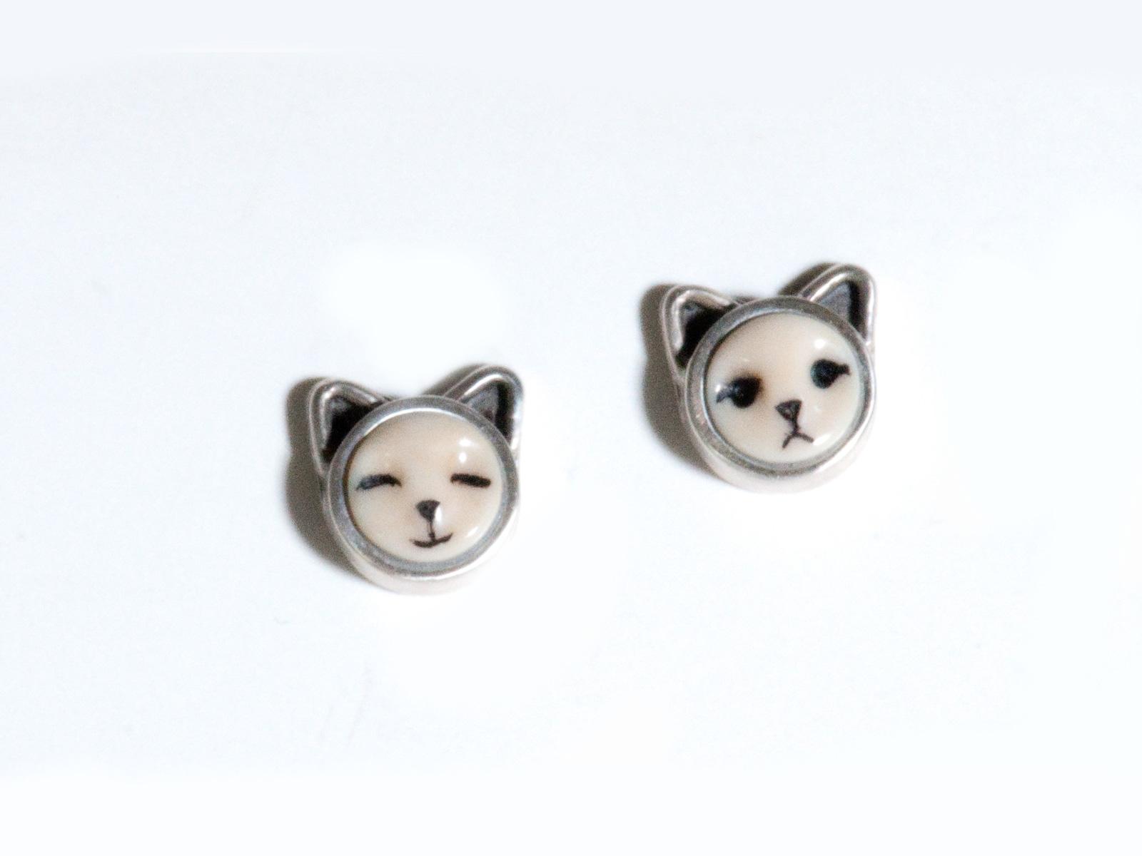 Kitten Post Earrings