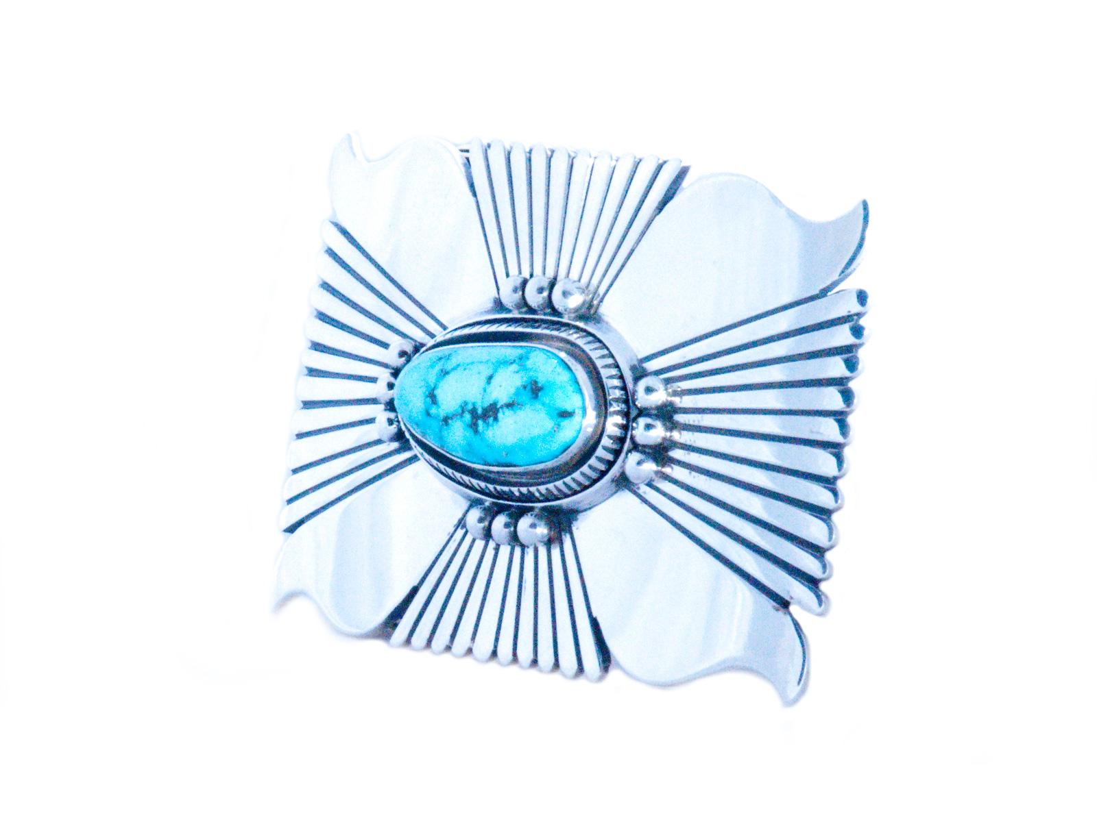 Royston Turquoise Belt Buckle