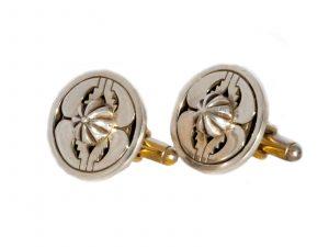 Navajo Sterling Silver Cufflinks