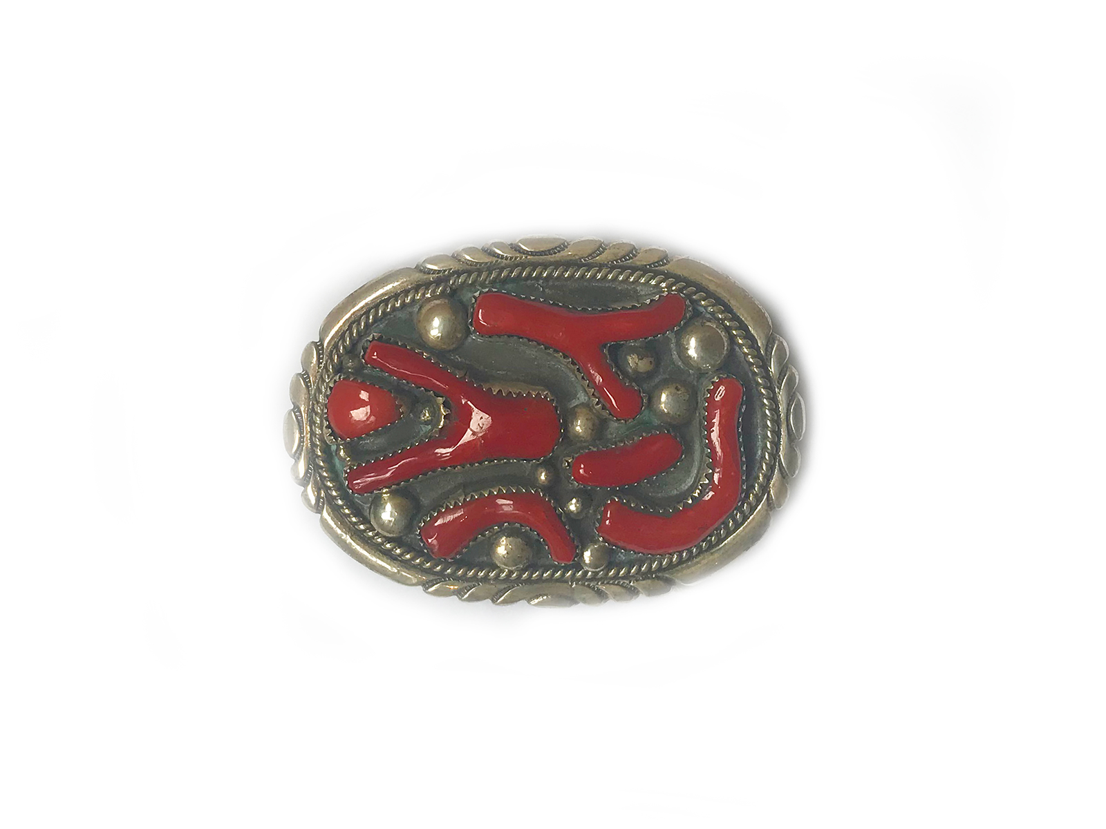 Branch Coral Belt Buckle