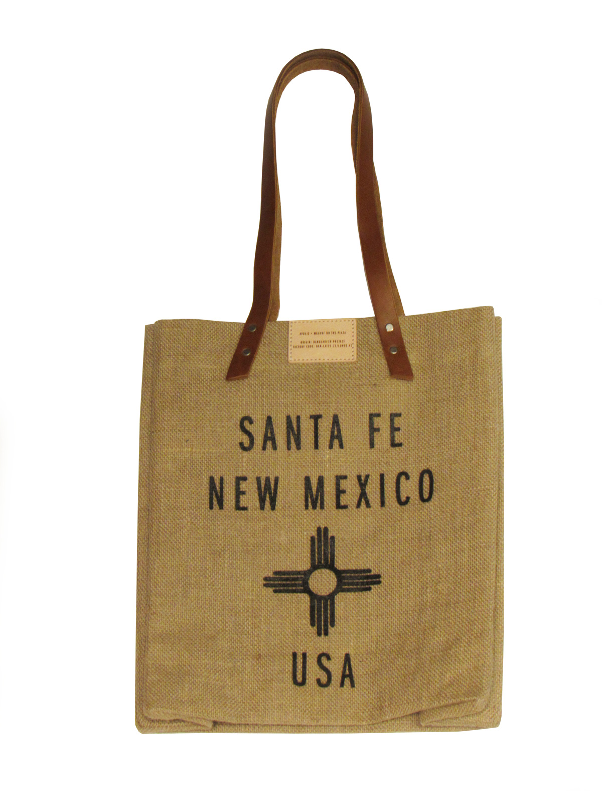 Santa Fe Market Bag long handles