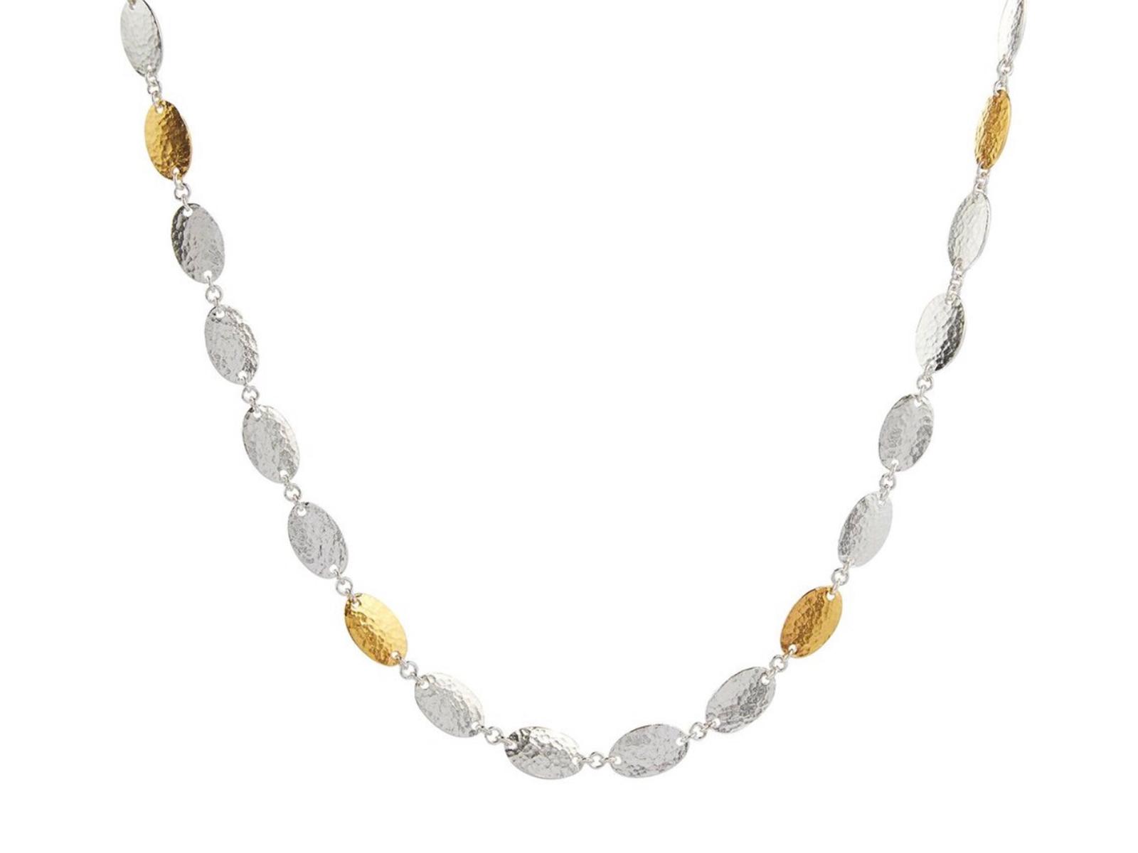 Mango Silver Necklace