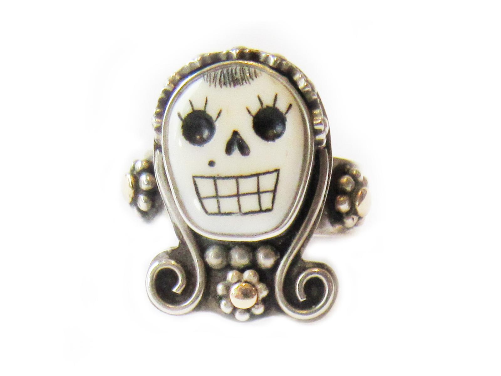 Lady Skull Ring