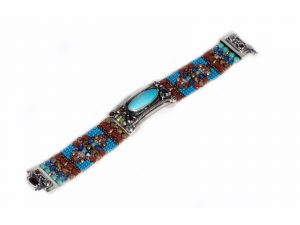 Multi-Stone Cowgirl Bracelet