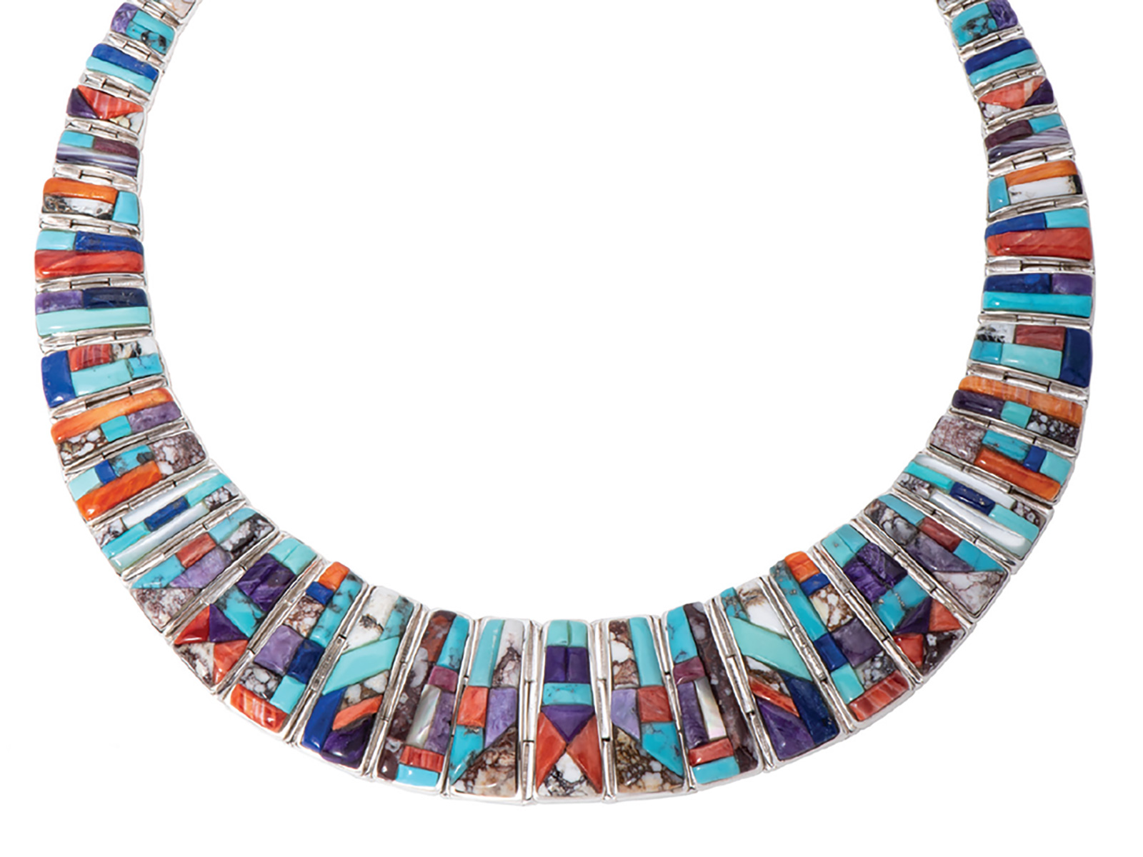 Multi-Stone Collar