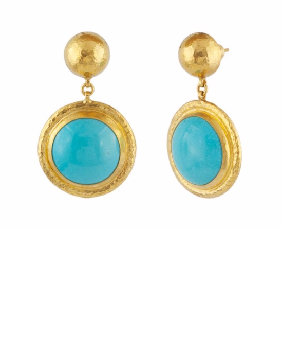 One of a kind Muse singled drop earrings
