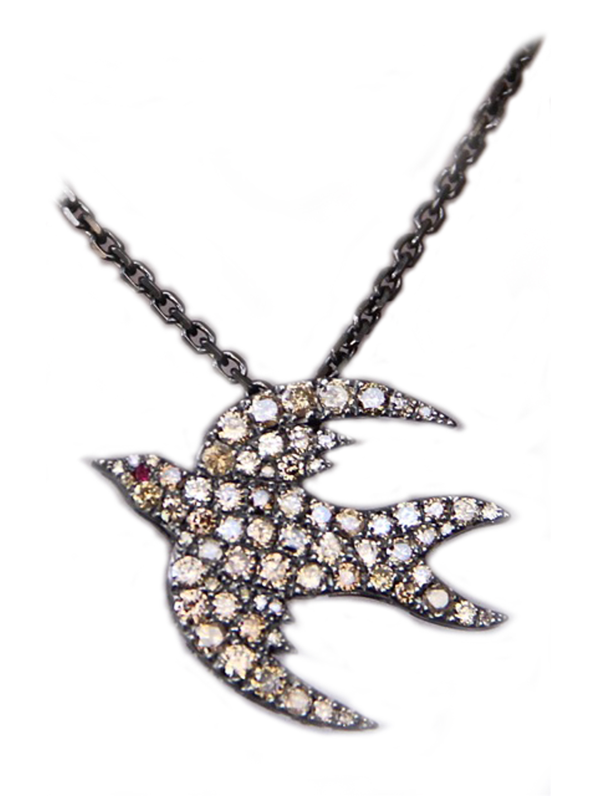 necklace vanessa bird plana love shop