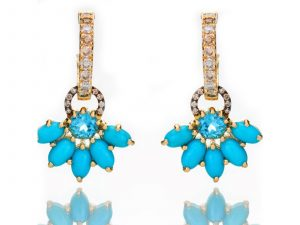 Turquoise Earring Charms