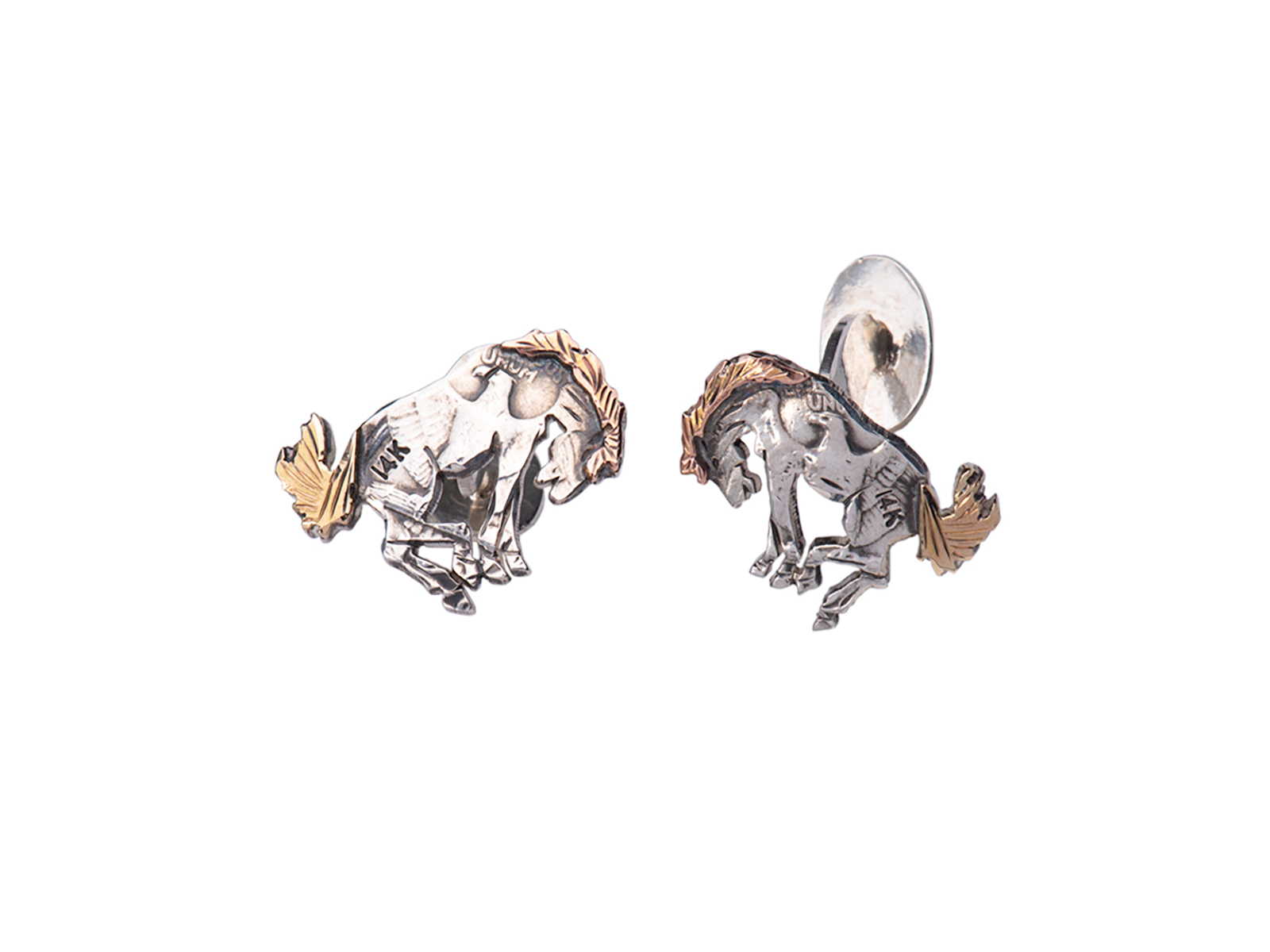 Buckin Bronco Cuff Links