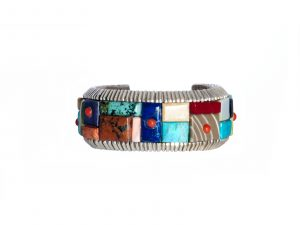 Mosaic Inlay Bracelet