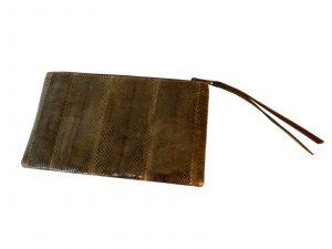 Olive Python Bag