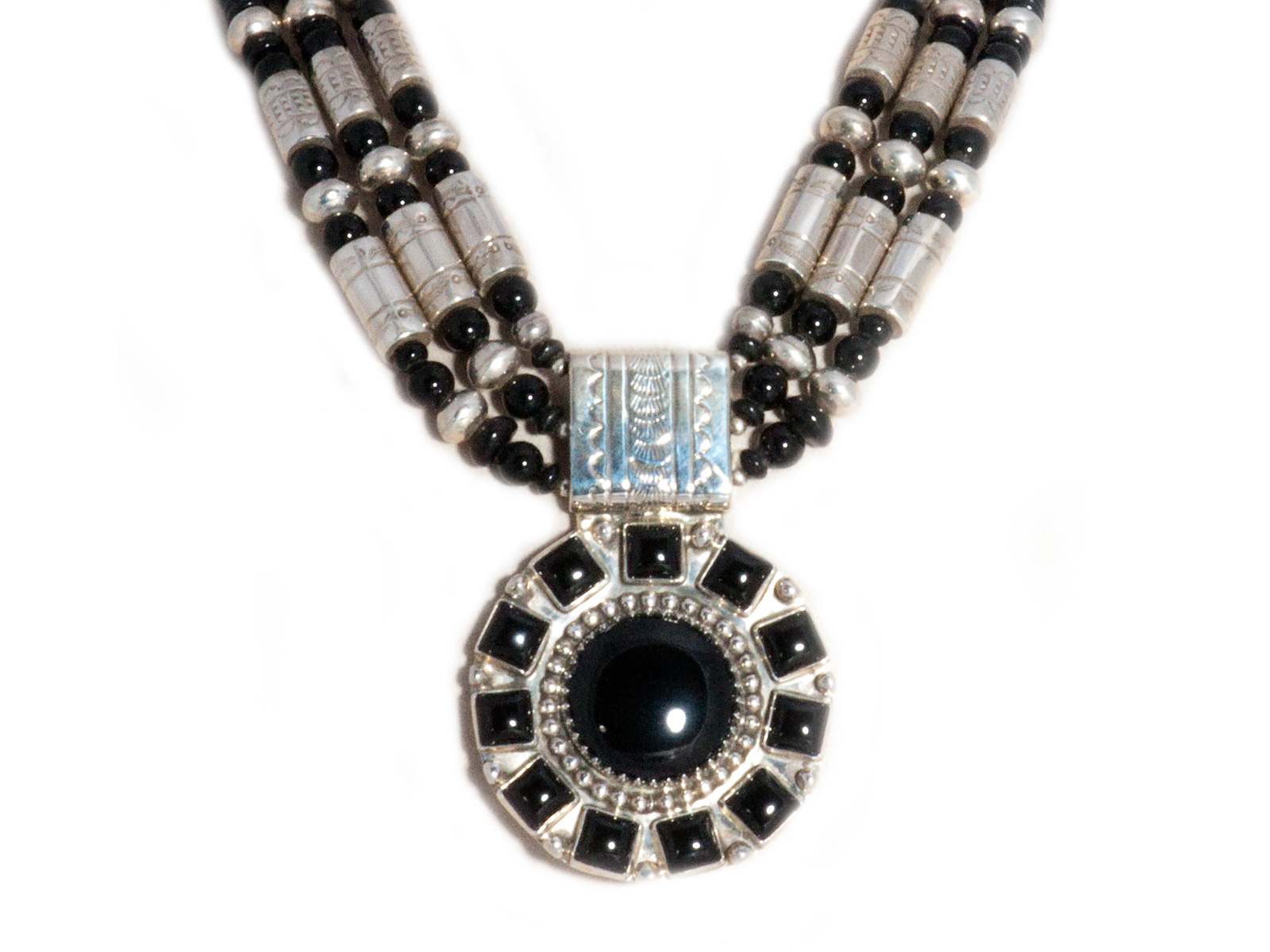 oie img long silver jewellery onyx and jewelry sterling black necklace diamond product