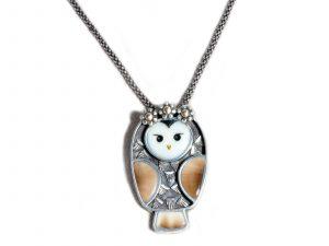 Precious Owl Necklace