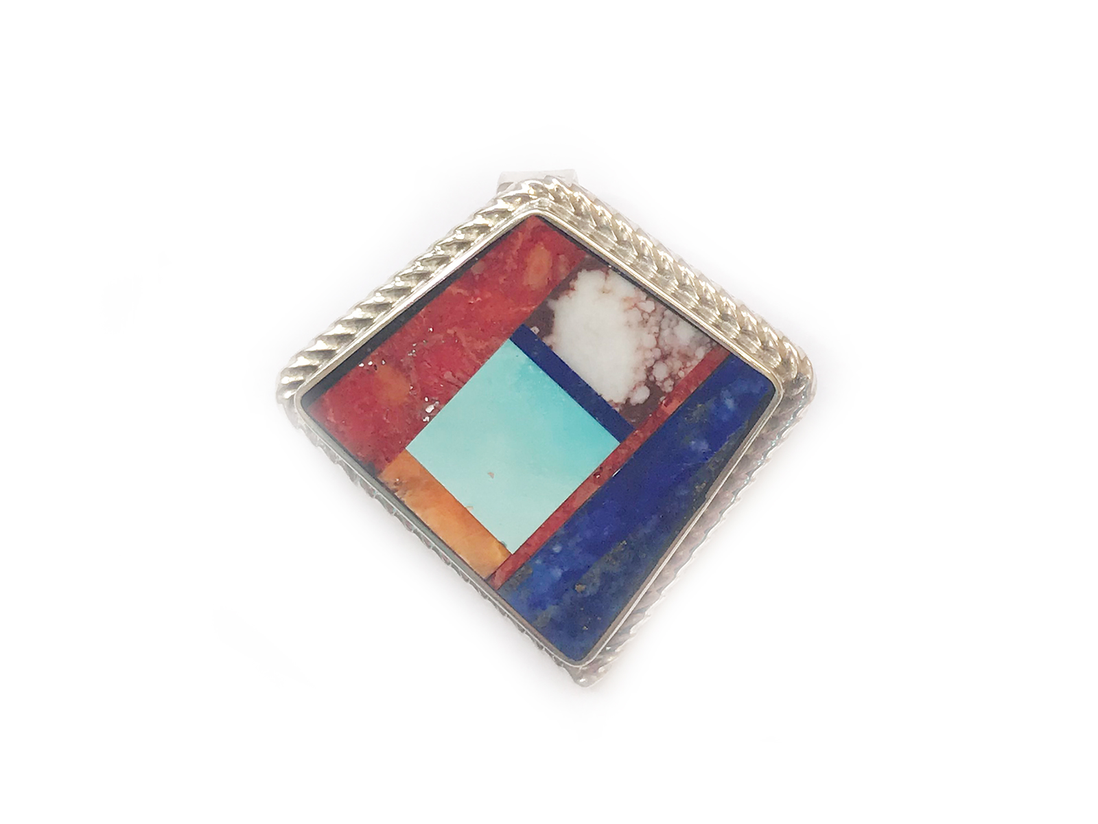 Stone Inlay Pendant