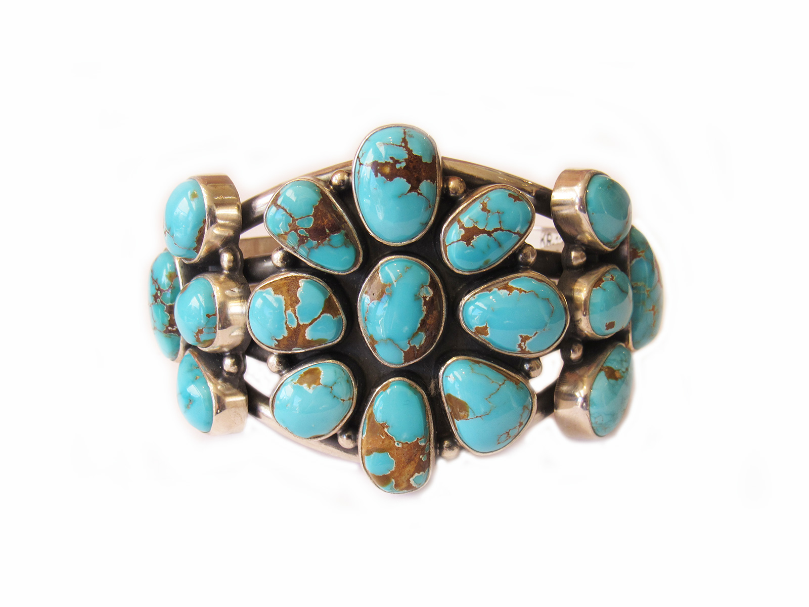 Pilot-Mt-Turquoise-Cluster-Cuff