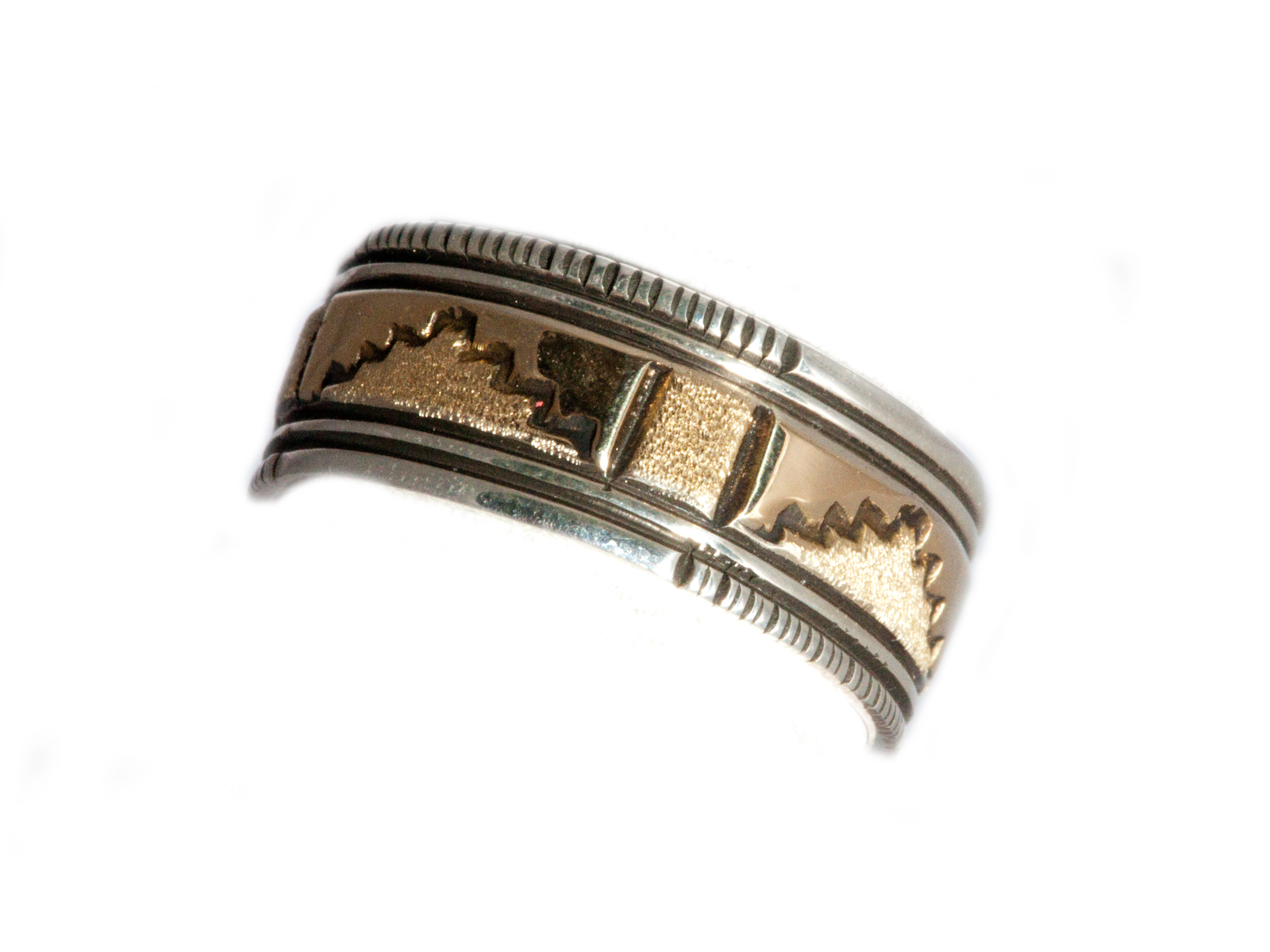 Gold Band Pueblo Design