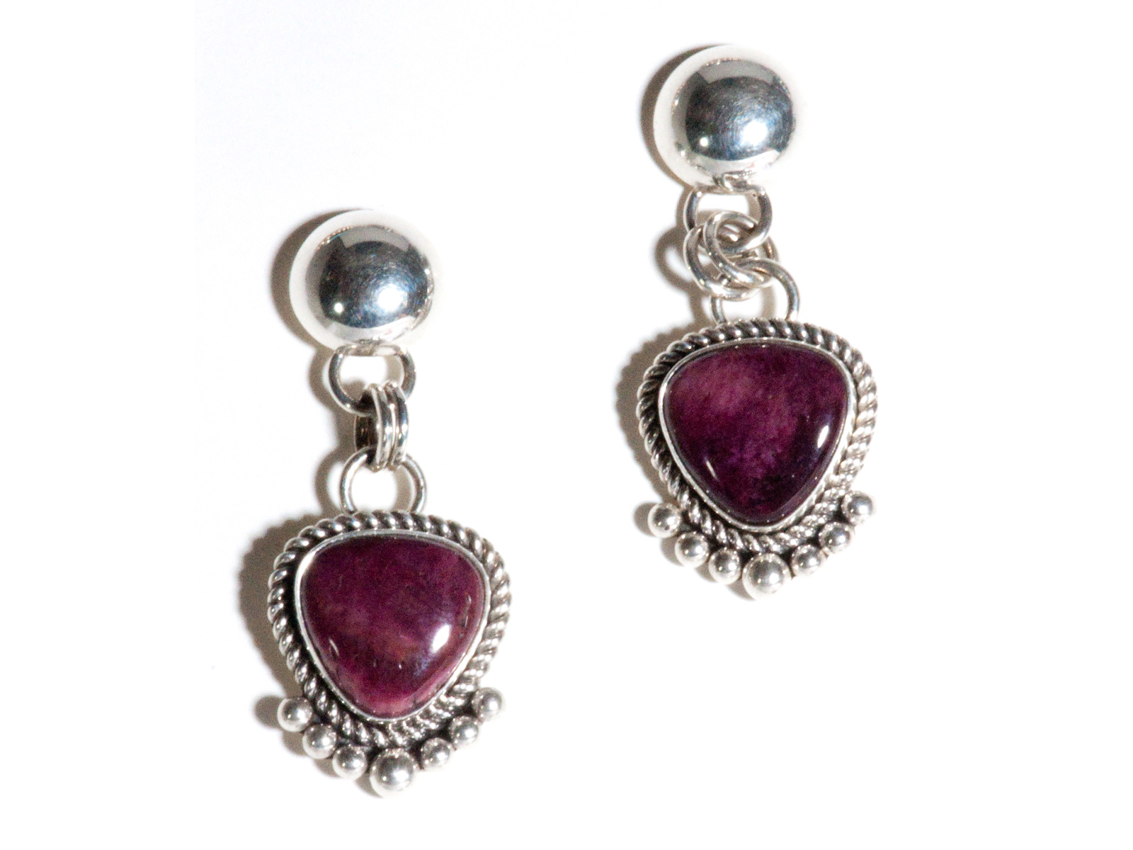 Purple Spiny Oyster Dangles