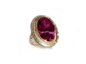 Purple Spiny Oyster Ring