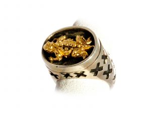 Horney Toad Ring