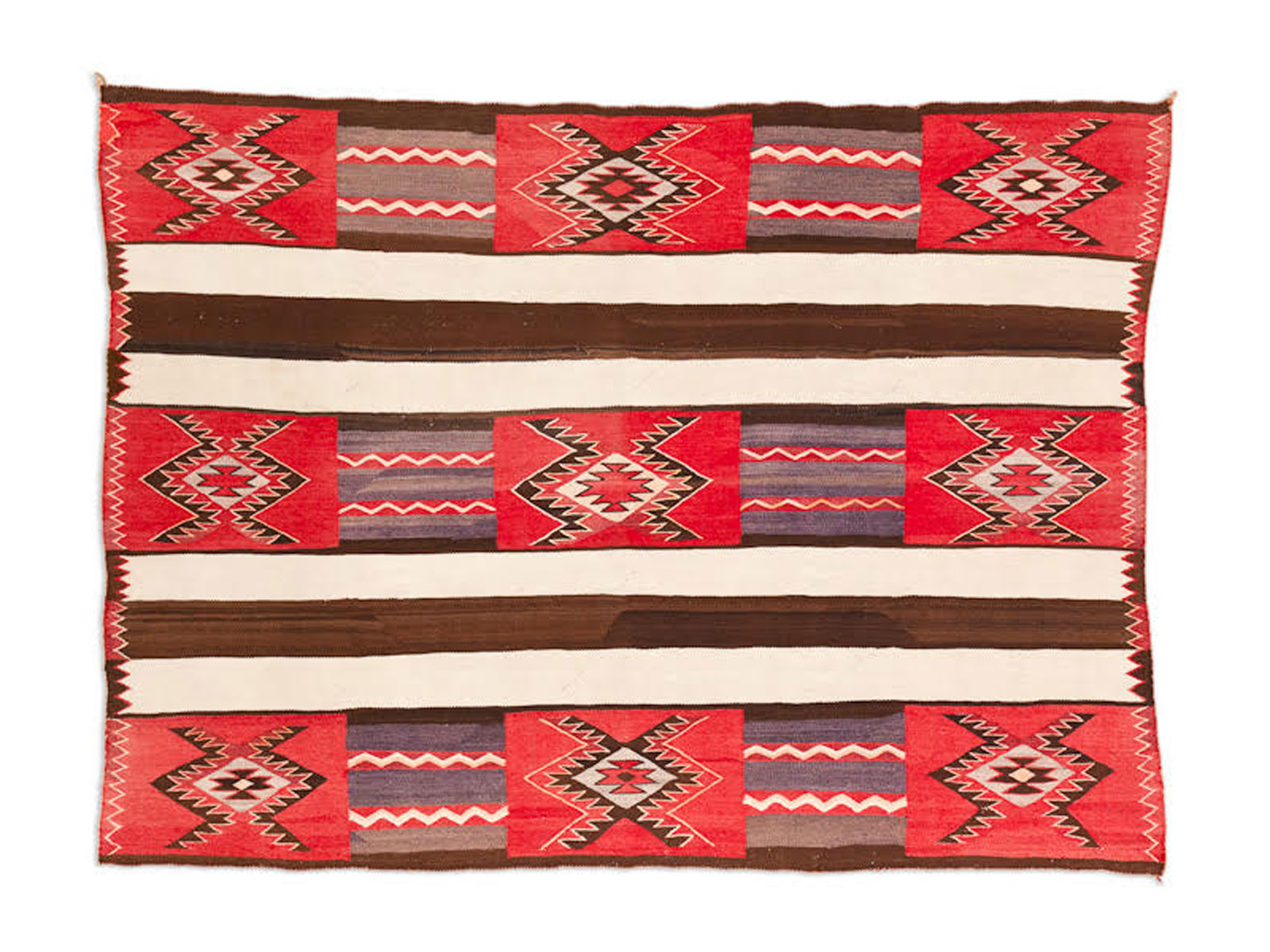 Red Mesa Chief's Blanket