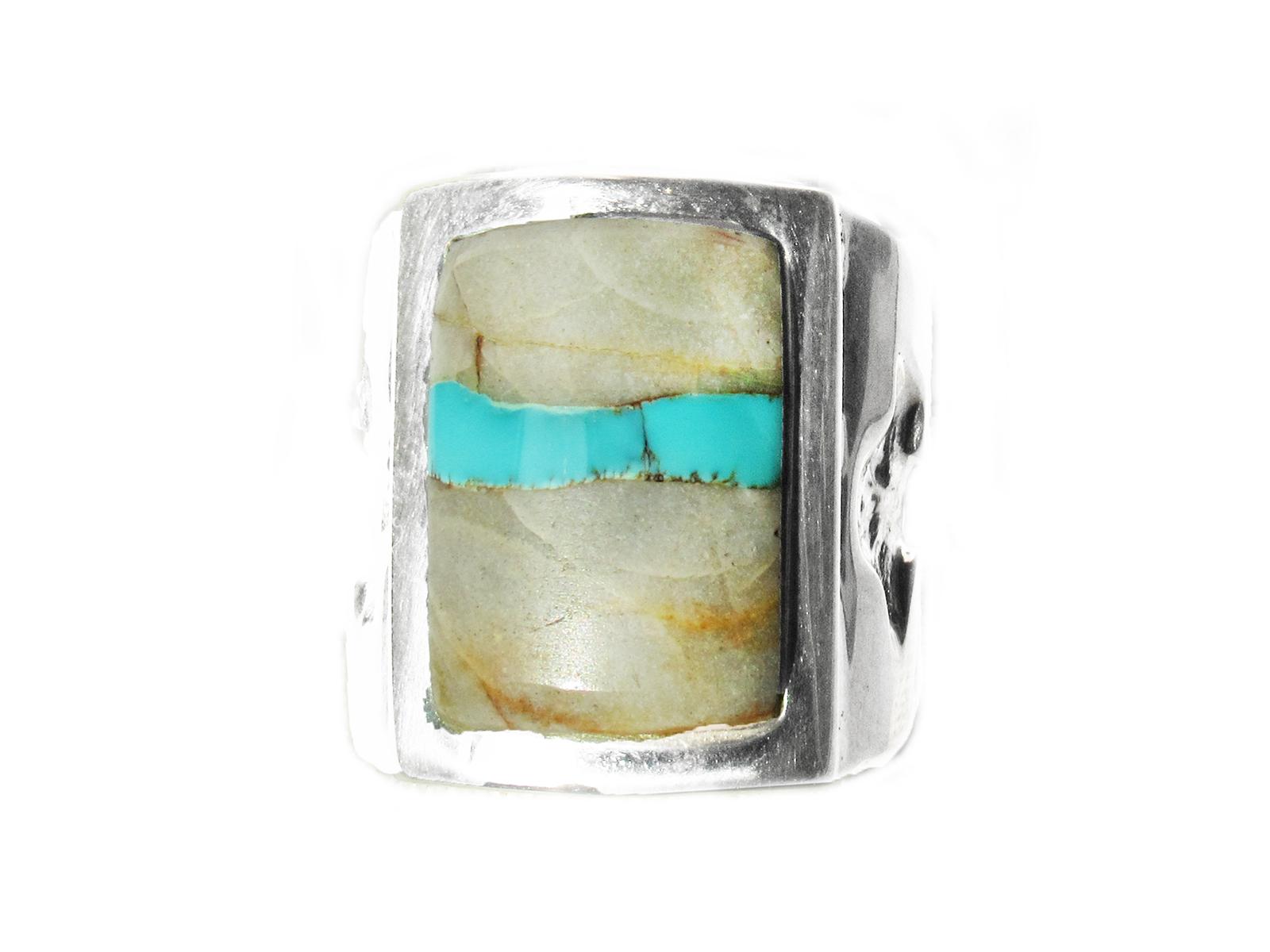 Ribbon Turquoise Ring