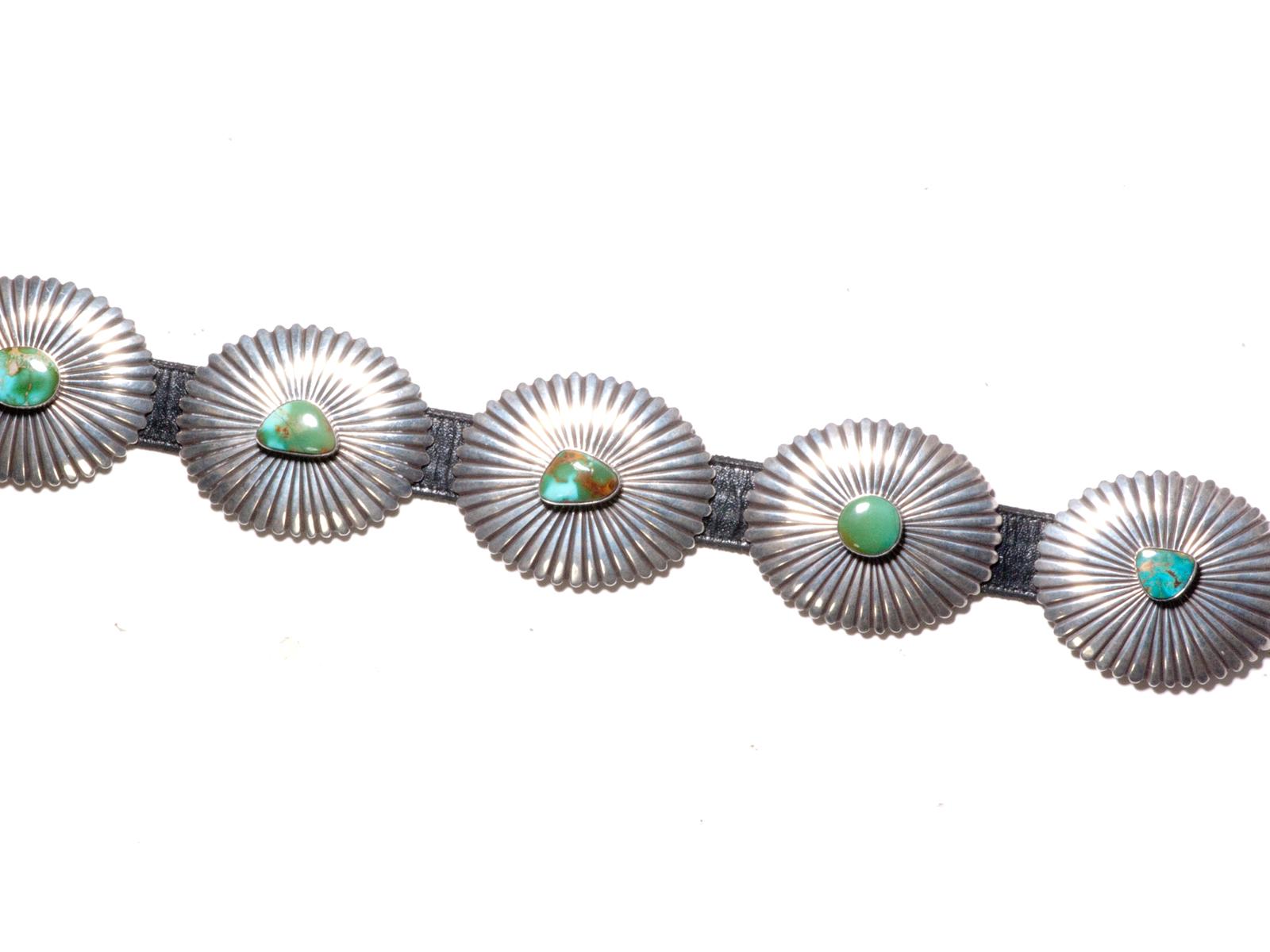 Royston Turquoise Concho Belt