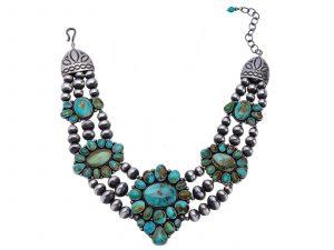 Royston Turquoise Triple Strand