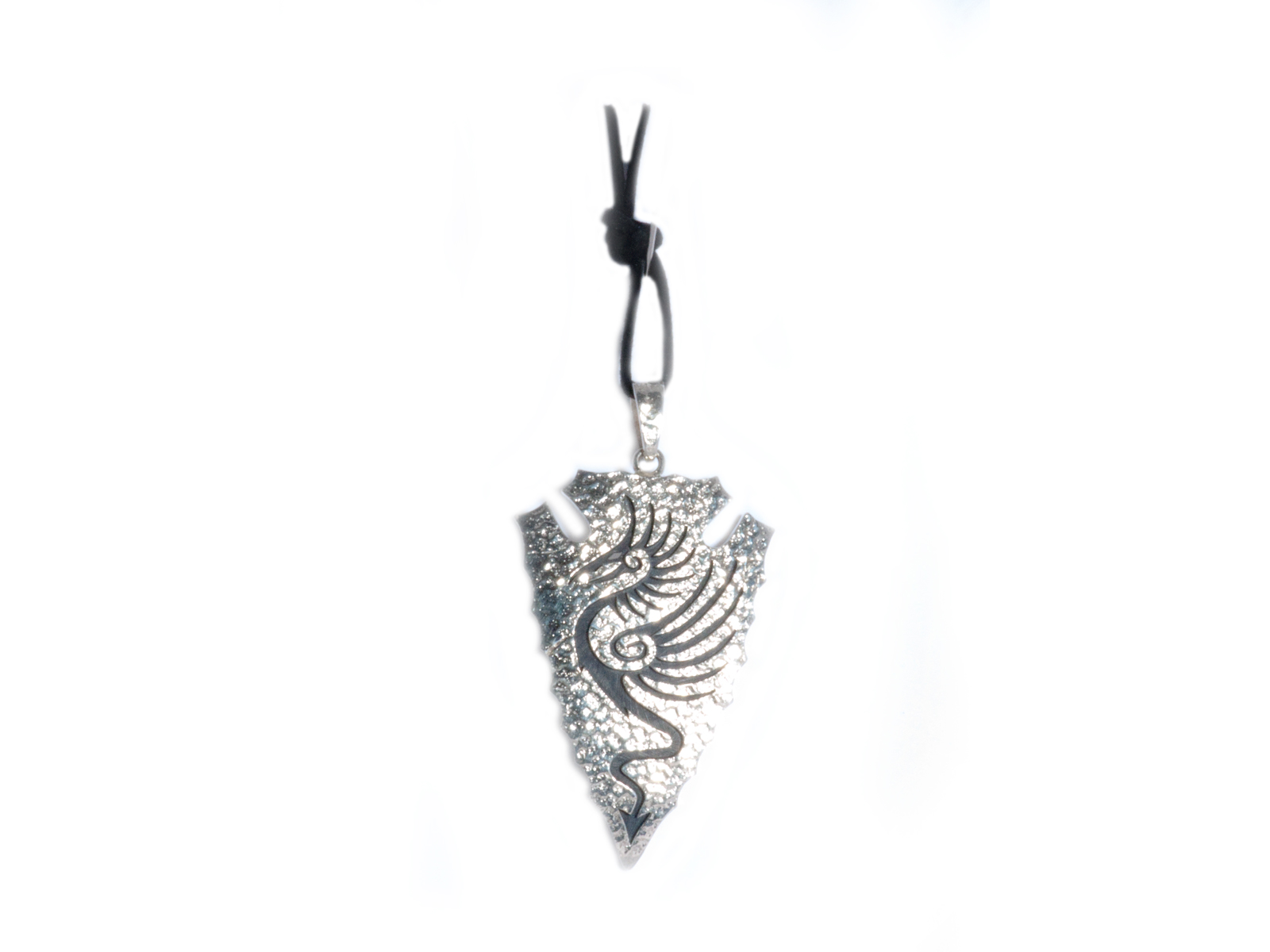 Arrowhead Dragon Pendant