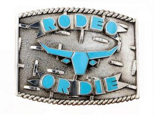 Rodeo Belt Buckle