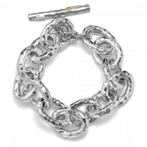 Glamazon® Sterling Silver Bastille Link Bracelet