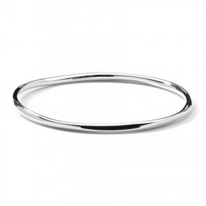 Glamazon® Sterling Silver Squiggle Bangle