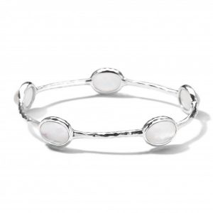 Rock Candy® Sterling Silver 5-Stone Bangle
