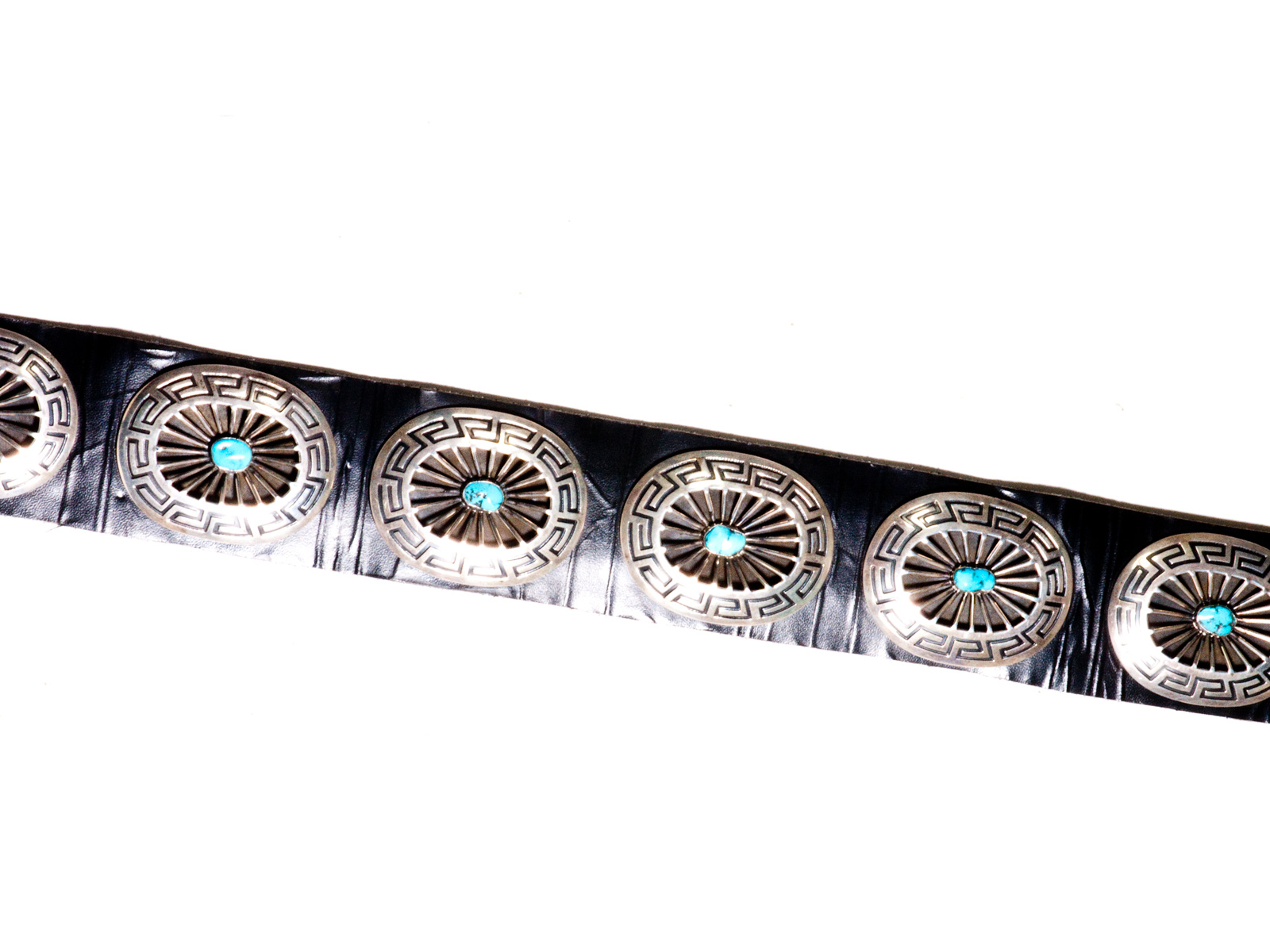 Johnny Mike Begay Concho Belt.
