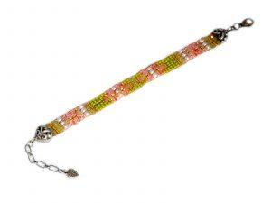 Scroll Beaded Bracelet
