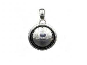 Small Silver Dome pendant