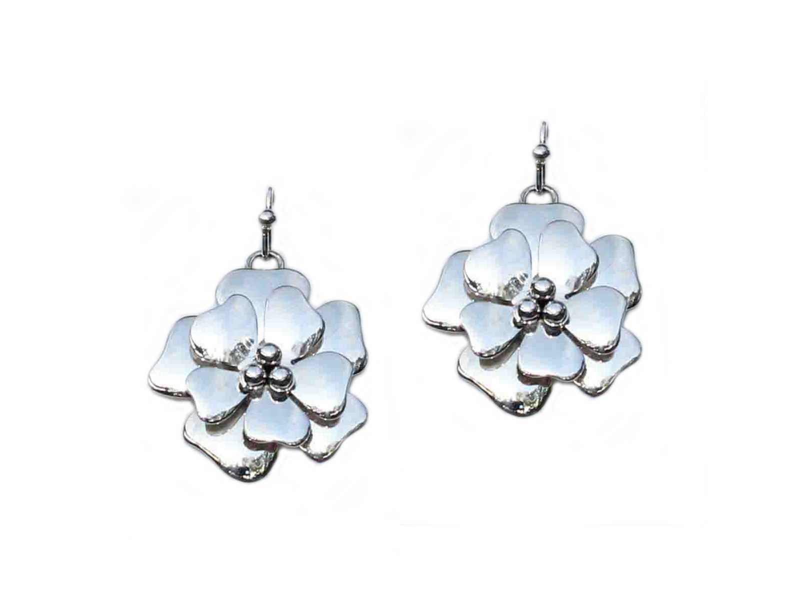 Dogwood Flower Earrings