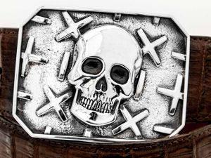 Skull Trophy Buckle