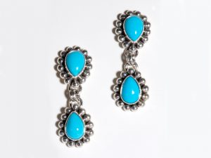Sleeping Beauty Turquoise Dangles