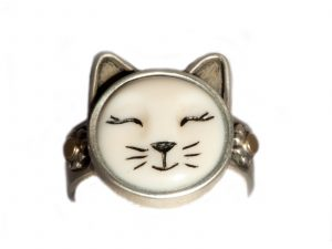 Whiskers Cat Ring