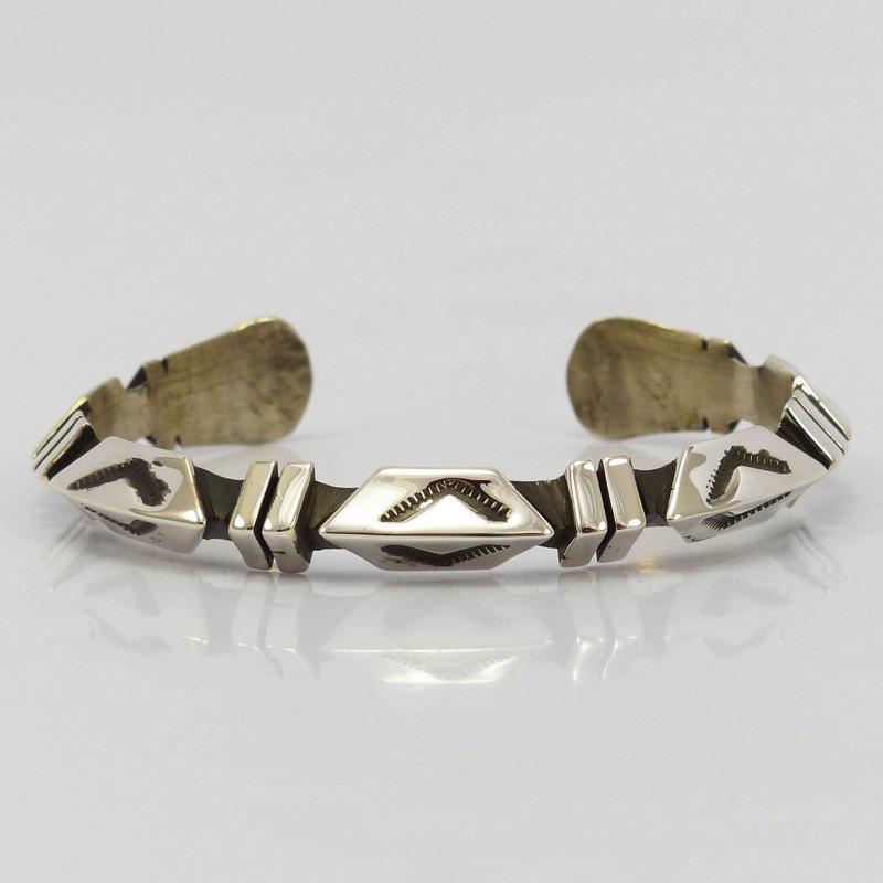 Geometric Silver Cuff