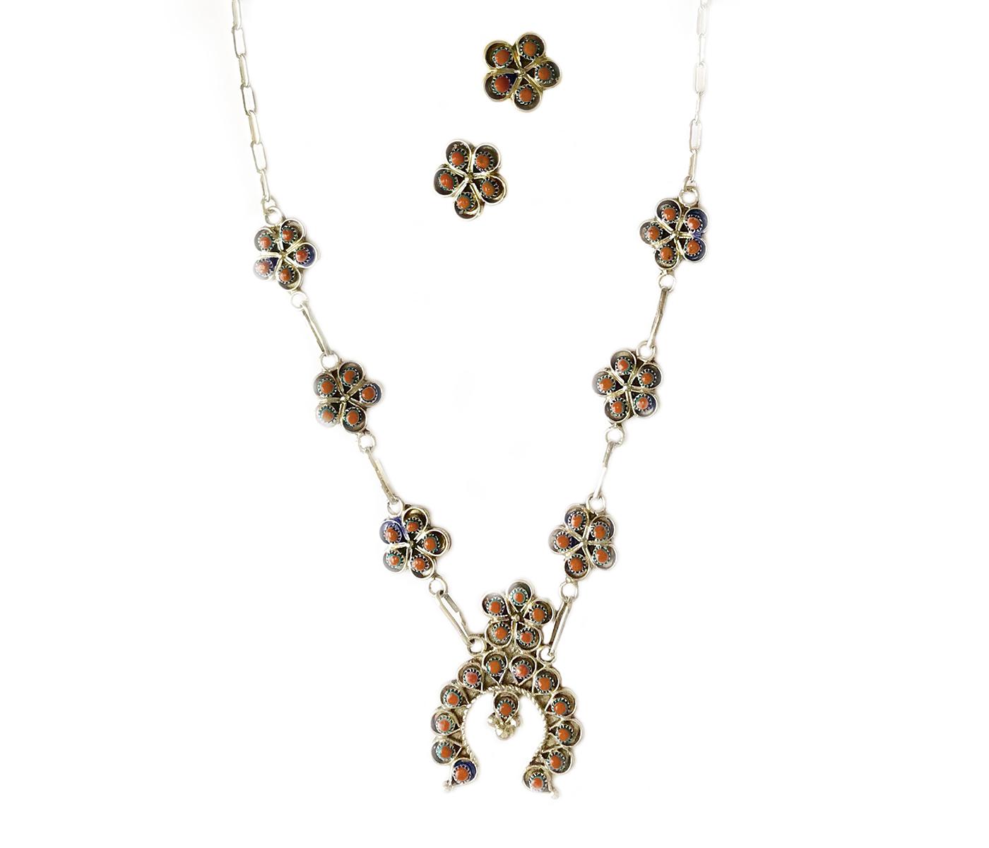 Mini Squash Blossom Necklace