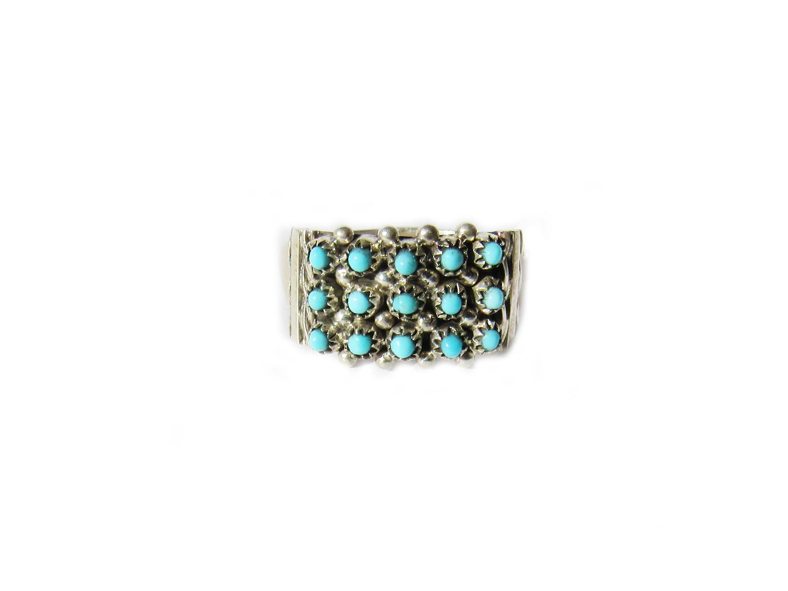 Snake Eye Turquoise Ring