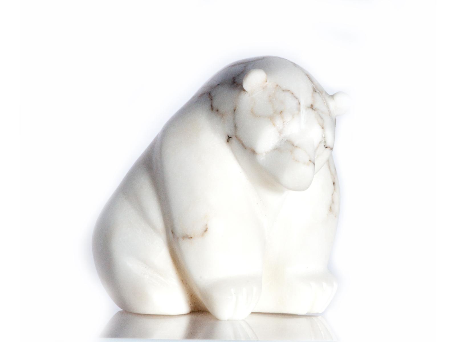 Small Stone Bear