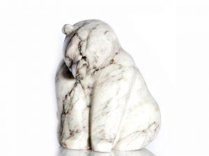Alabaster Stone Bear